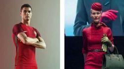 Cristiano Ronaldo e le hostess Alitalia: trova le