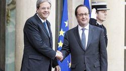 Gentiloni a Parigi da Hollande: mano tesa verso la Russia, sul tavolo anche il dossier
