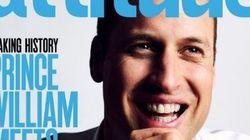 William nella storia: in copertina su una rivista gay per sostenere la comunità