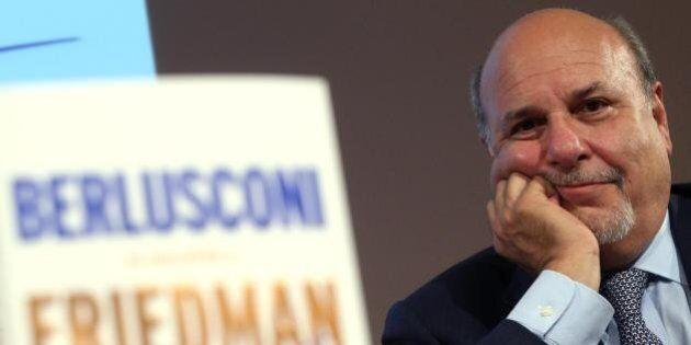 Alan Friedman molla Berlusconi. Il giornalista lascia la Rizzoli.