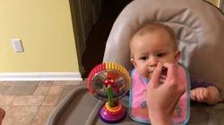 La bimba assaggia i broccoli per la prima volta in vita sua: la reazione dice