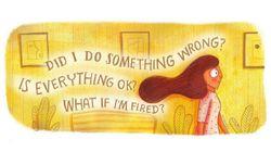 14 illustrazioni che chi soffre d'ansia può capire meglio di