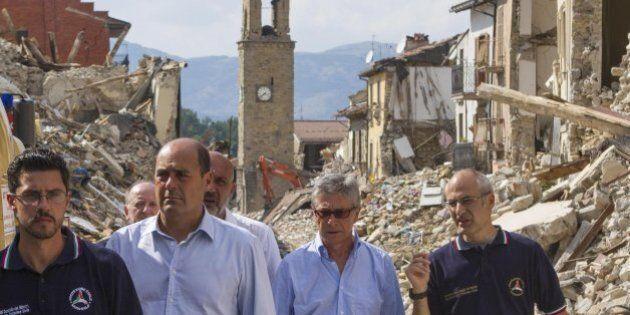 Terremoto, il commissario Vasco Errani: