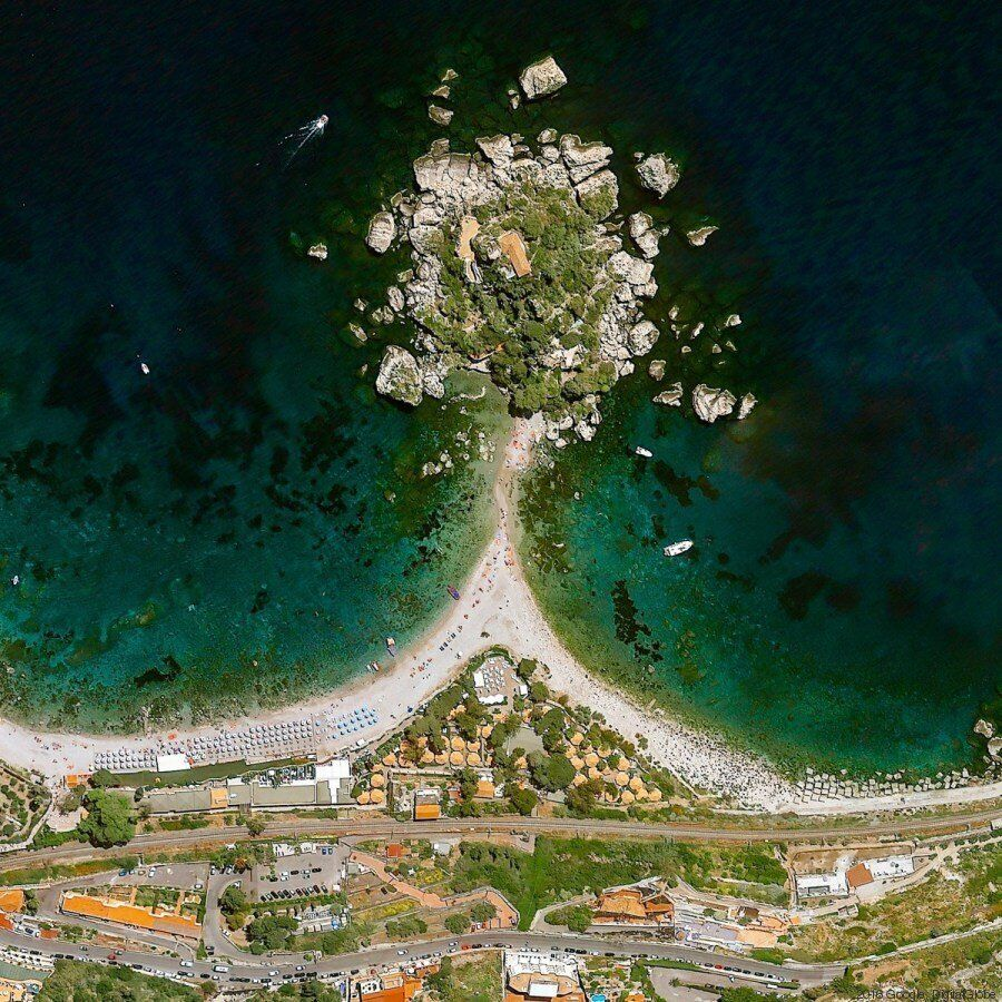 La Calabria e la Sicilia raccontate dall'alto. Il territorio che cambia è