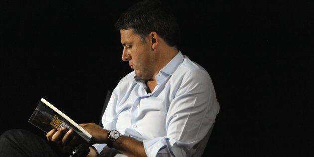 FLORENCE, ITALY - JULY 21: Italian politician Matteo Renzi, Secretary of the Democratic Party attends...