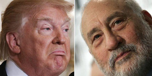 Un mese di Trump, Joseph Stiglitz spiega come sopravvivere a The