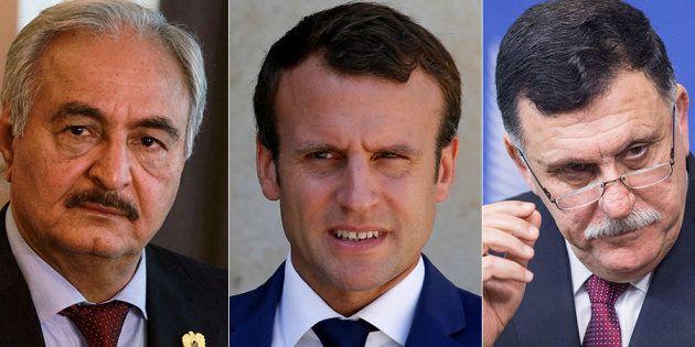Nel castello con Macron. Sarraj e Haftar siglano un accordo per il cessate il fuoco in Libia e elezioni...