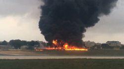 Aereo si schianta poco dopo il decollo: 5 morti a