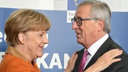 Juncker sta con Merkel sull'Europa a più