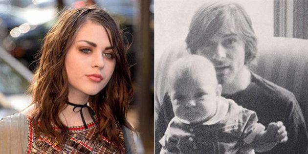 La figlia di Kurt Cobain, Frances Bean, rende omaggio al padre scomparso, nel giorno del suo 50esimo