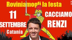 Festa del Pd, Catania in tilt per l'arrivo di