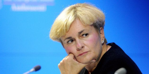 COMO, ITALY - SEPTEMBER 07: Minister for Ecoomic Development Federica Guidi attends the Ambrosetti International...