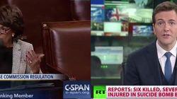 Trasmissione Usa su seduta Congresso interrotta da 10 minuti di Russia Today. Aperta una