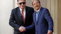 Gentiloni ringrazia Macron e riceve al Serraj: