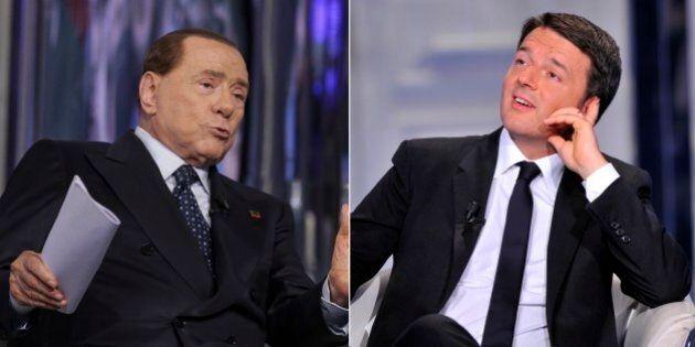 Matteo Renzi e Silvio Berlusconi intervistati da Repubblica e Corriere: parte la trattativa su quando...