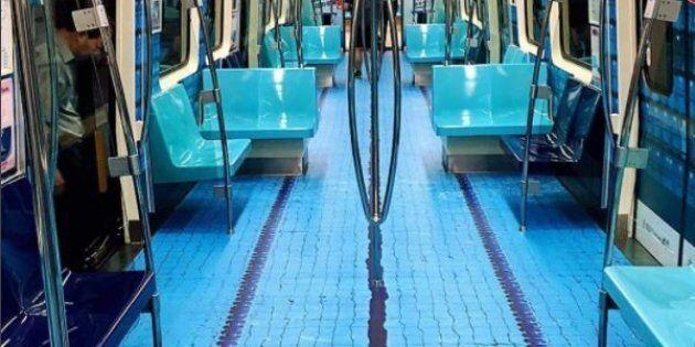 Un tuffo nella metropolitana di