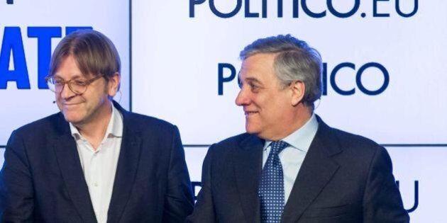 Guy Verhofstadt ritira la candidatura per la presidenza del Parlamento Ue. Appoggio a