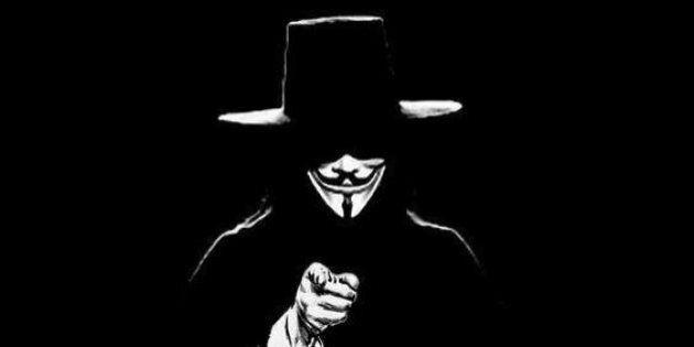 Esponenti di Anonymous pronti ad attaccare il referendum, denunciati due noti