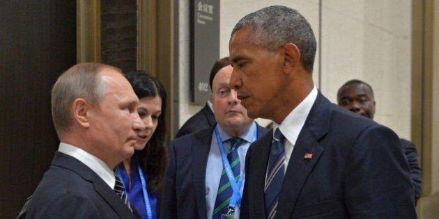 Vladimir Putin contro Barack Obama: