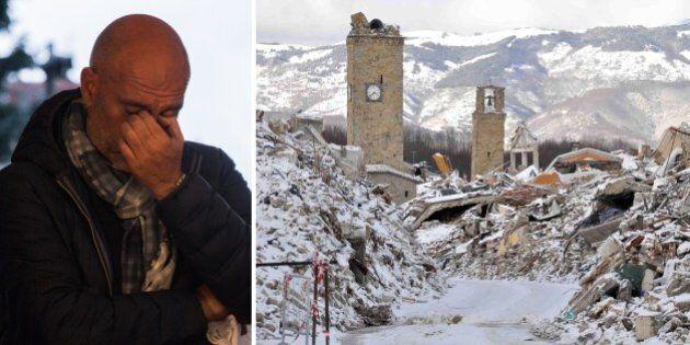 Terremoto, lo sconforto del sindaco di Amatrice Pirozzi: