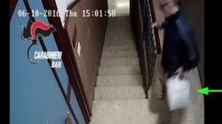 Detenuto in permesso premio violenta una donna in ufficio: il video lo