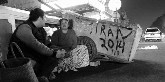Gli uomini-carretto di Jakarta non sono più