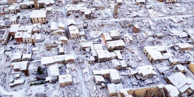 Terremoto Montereale: i tre gironi infernali di maltempo, scosse, ritardi della