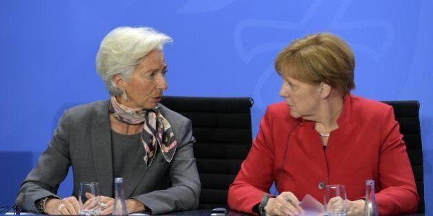 Grecia, Angela Merkel riceve Christine Lagarde. Il Fondo monetario internazionale dà più tempo ad Atene...