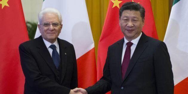 Sergio Mattarella incontra il presidente cinese Xi Jingping: