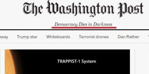 Il Washington Post cambia testata.