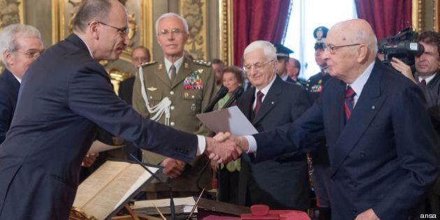 Giorgio Napolitano spegne l'incendio sul governo. Enrico Letta tira un respiro di sollievo. Per