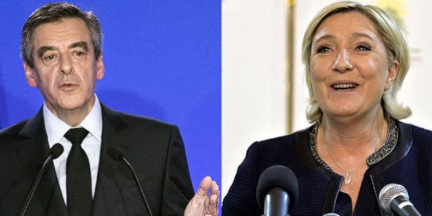 François Fillon e Marine Le Pen: due guai, due pesi e due