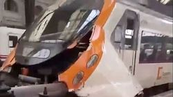 Incidente a Barcellona, un treno contro la banchina. Sono circa 50 i