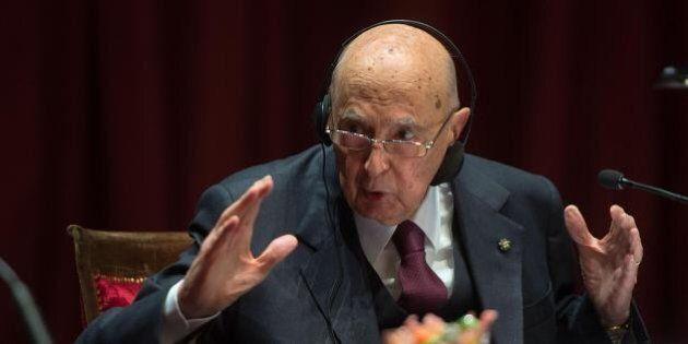 Grazie presidente Napolitano: un punto per il