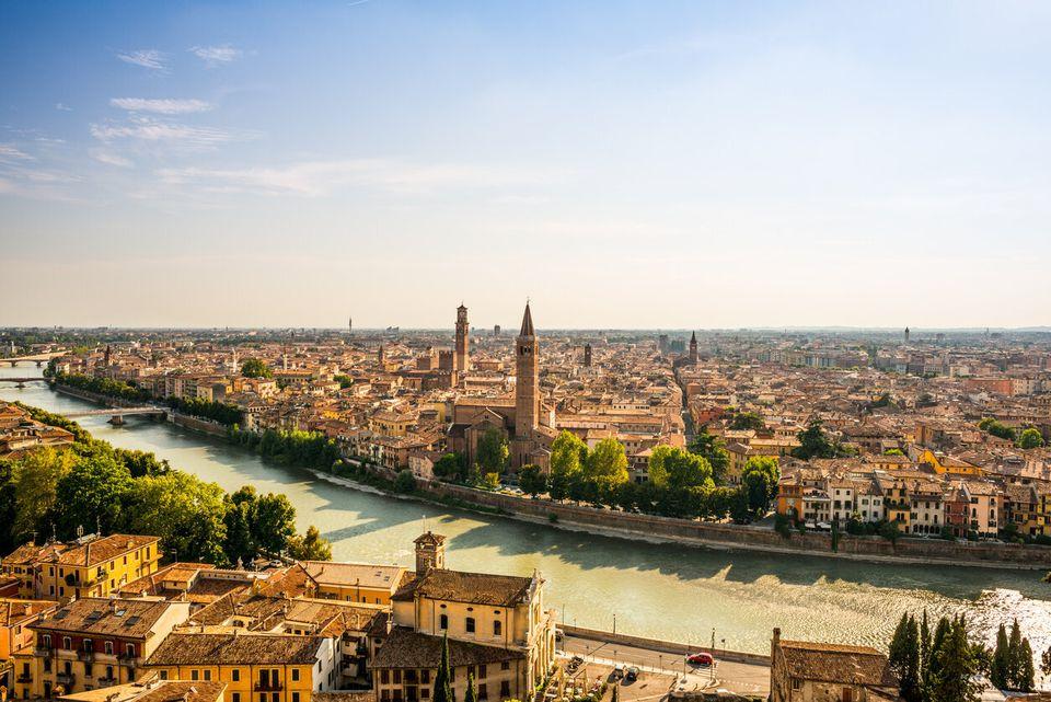 Verona Skyline at
