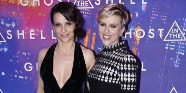 Juliette Binoche ruba la scena a Scarlett Johansson all'anteprima del film