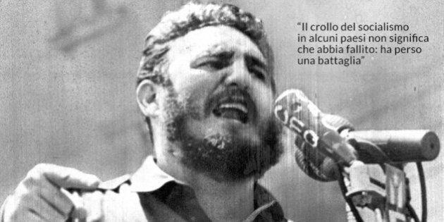 Morte Fidel Castro, le sue frasi celebri.
