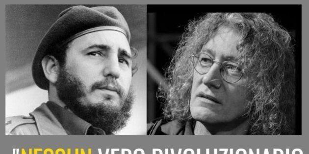 Carla Ruocco paragona con una foto Fidel Castro a Gianroberto Casaleggio.