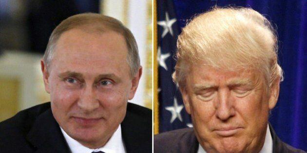 Vladimir Putin elogia Donald Trump: