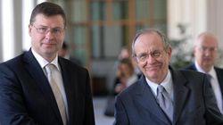 Dobrovskis plaude ancora alla manovra italiana sui conti pubblici.