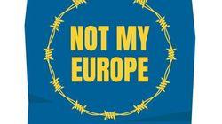 #NotMyEurope, il Mediterraneo sul Tevere per un'Europa più