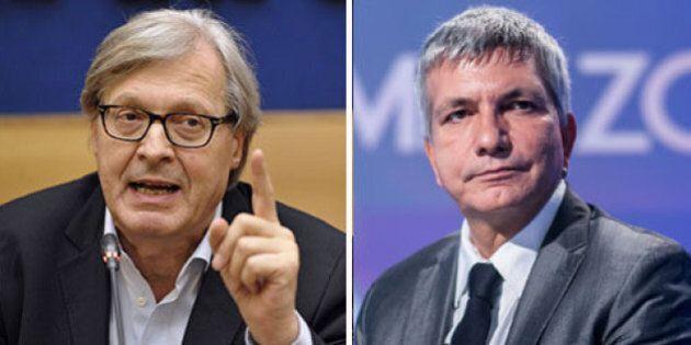 Vittorio Sgarbi critica Nichi Vendola papà: