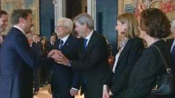 Il premier lussemburghese presenta suo Marito a Matterella e dà una lezione sui diritti a