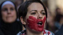 A Roma in 200 mila in corteo contro la violenza sulle