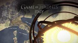 Se amate Game Of Thrones, la cover della sigla con le città italiane fa per