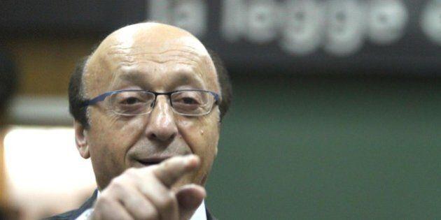 Luciano Moggi vede un complotto contro la