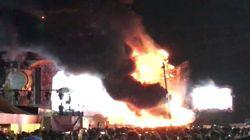 Incendio sul palco al Tomorrowland di Barcellona: evacuate 22mila