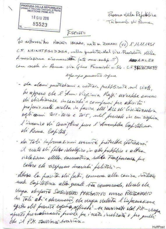 Esposto in Procura contro Virginia Raggi. Negli atti della Asl Civitavecchia la firma della madre della...