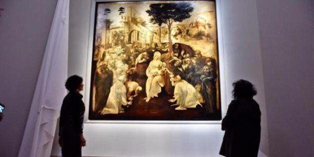 L'Adorazione dei Magi ritrova i suoi colori, restaurata la celebre opera di Leonardo da