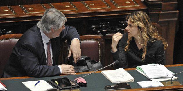 Giuliano Poletti e Marianna Madia sotto